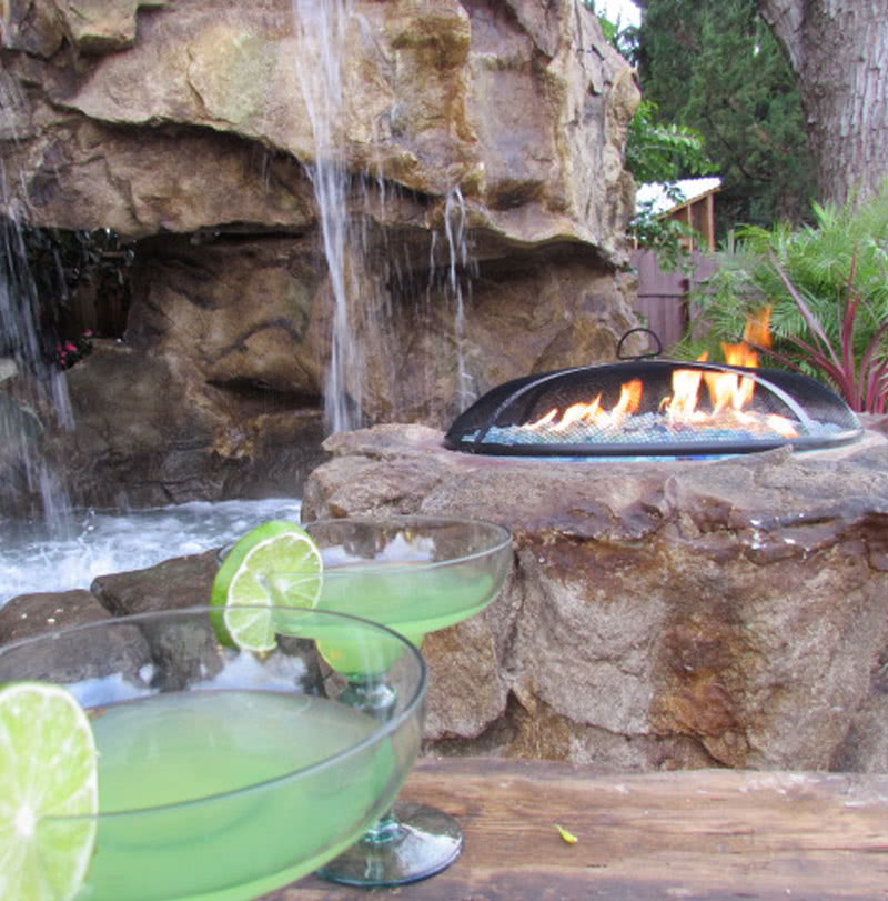 Outdoor Fire Pit Fireplace Design Build Professional Install Oasis Outdoor Living