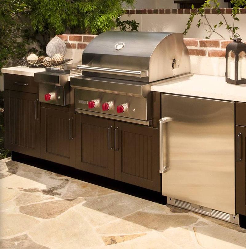 Danver Stainless Steel Outdoor Kitchen Installer Oasis Outdoor Living