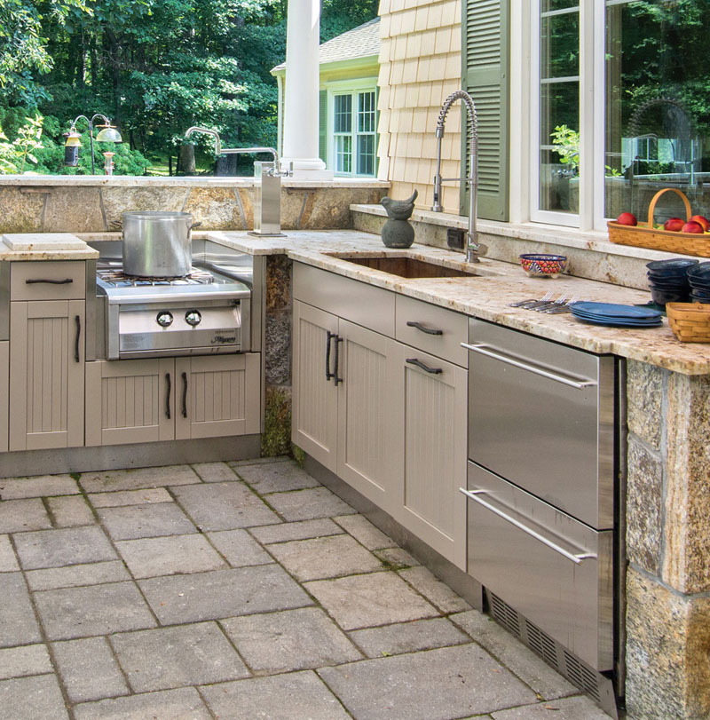 Danver Stainless Steel Outdoor Kitchen Installer Oasis Outdoor Living