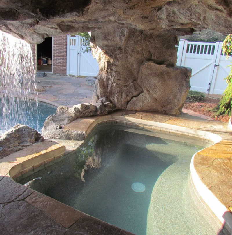Poolside Grottos And Caves Custom Built Oasis Outdoor Living