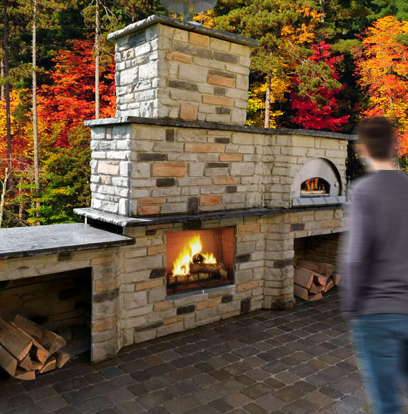 Outdoor Fire Pit Fireplace Design Build Professional Install