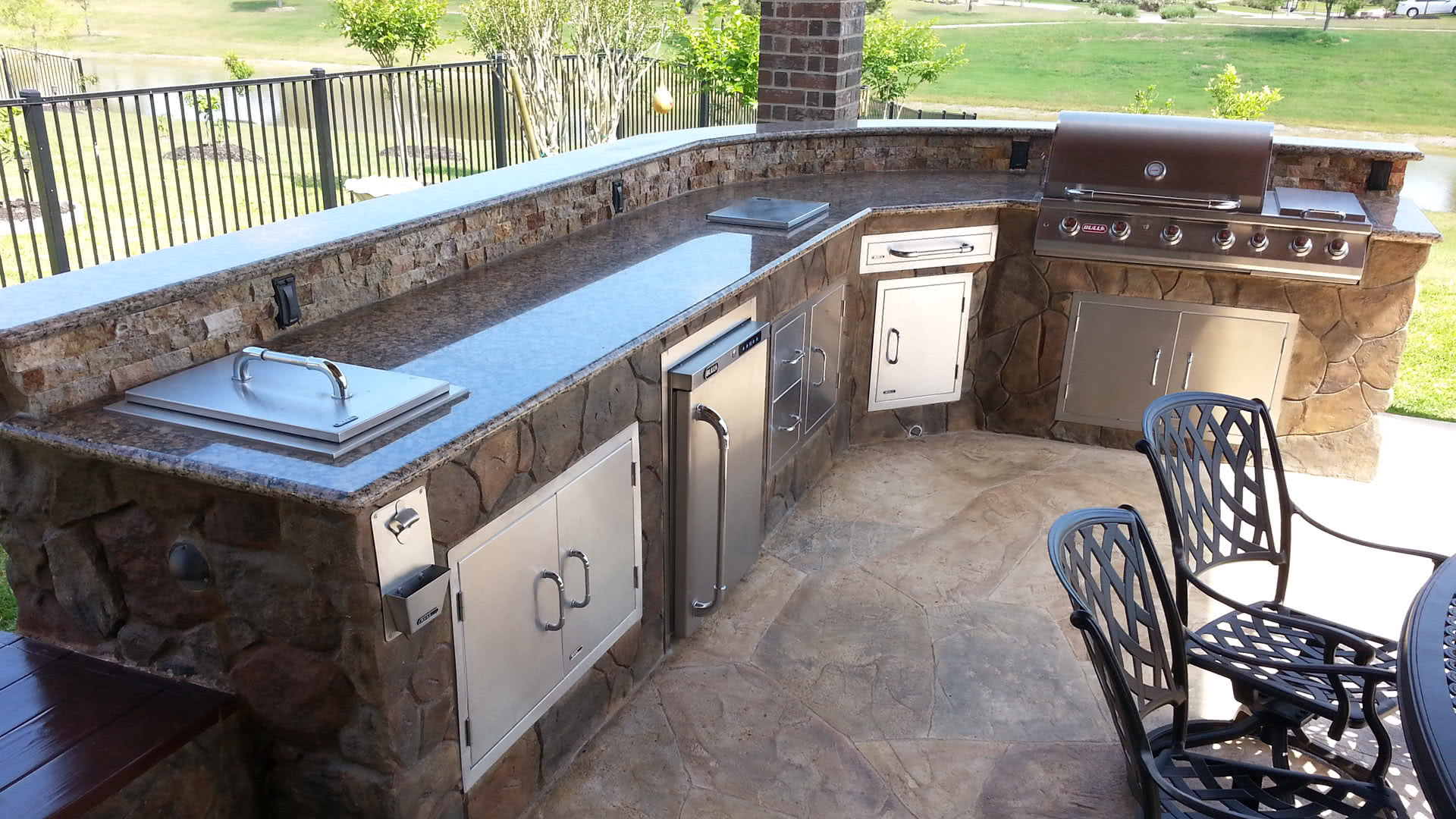 Outdoor Kitchens Design, Build & Install – Affordable ...