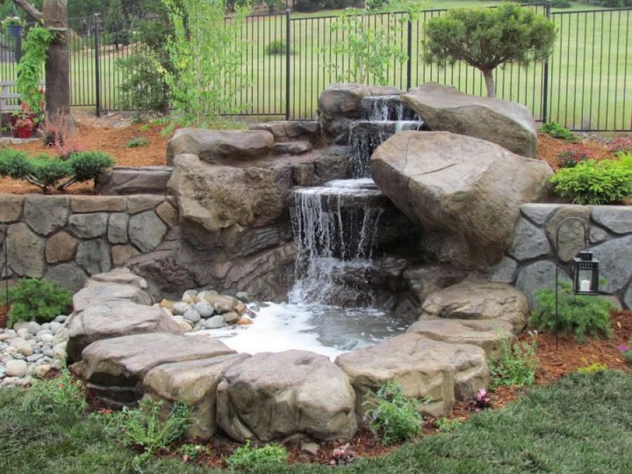 Waterfall U0026 Water Feature Design, Build U0026 Installation   Oasis Outdoor  Living