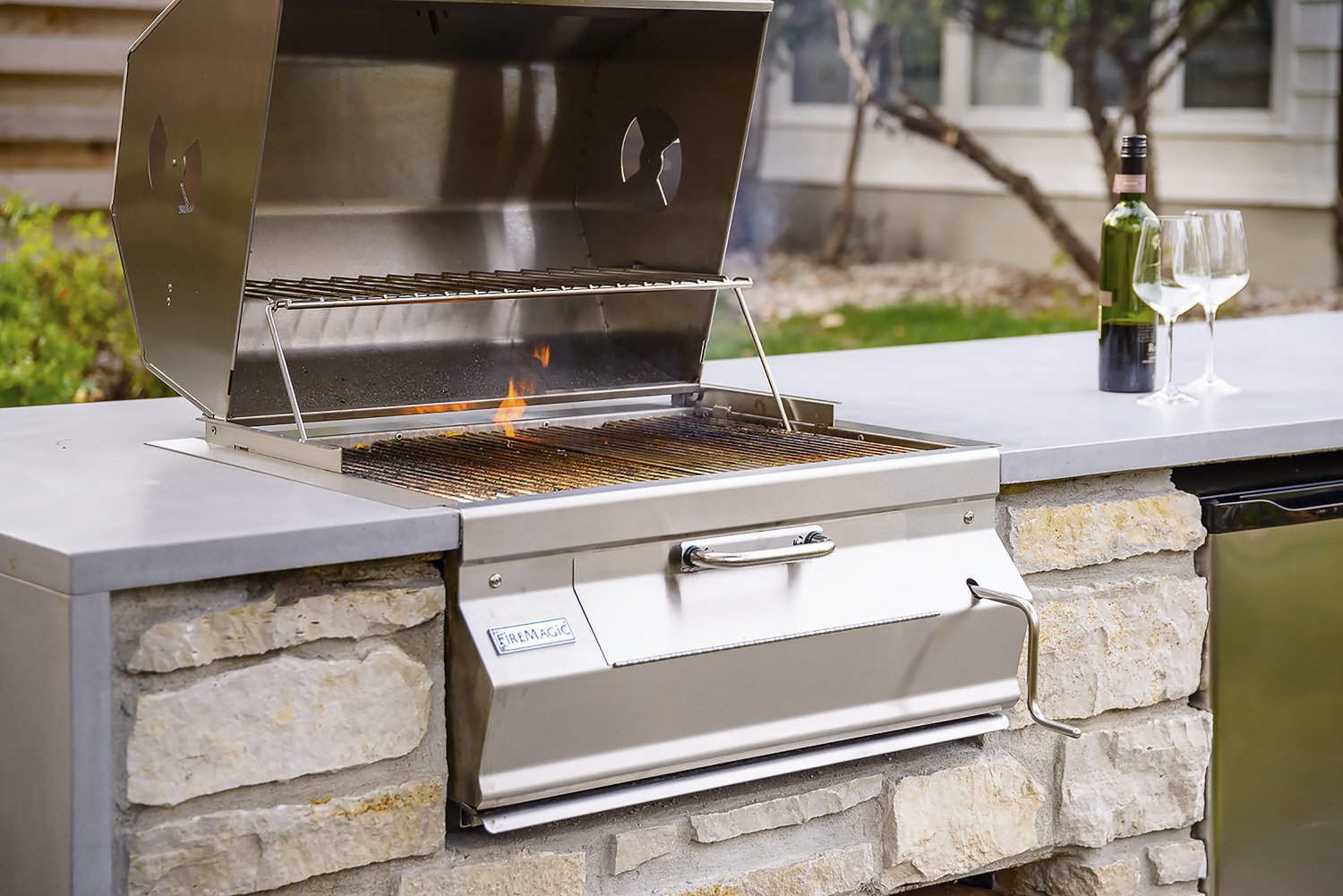 Fire Magic Grills Professional Outdoor Kitchen Builds Oasis Outdoor Living